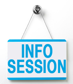Online information sessions are scheduled. Sign up for one today!