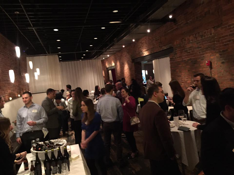 Networking with Alumni at Due Amici