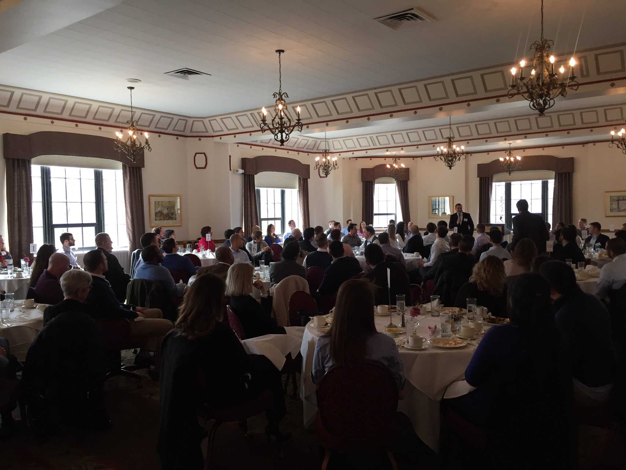 Lunch with Fisher faculty, staff and student org leaders