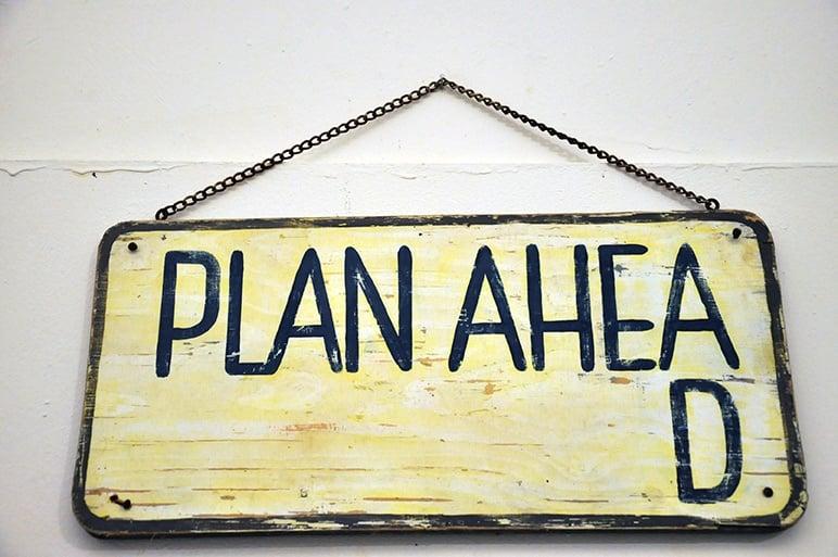 Plan ahead when preparing your graduate program application